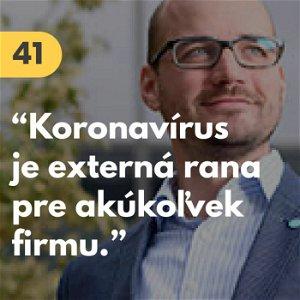 """41. Juraj Strieženec (Kiwi.com): """"Koronavírus je externá rana pre akúkoľvek firmu."""" #rozhovor"""