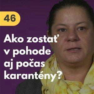 """46. Barbora Kuchárová: """"Ako zostať v pohode aj počas karantény?"""" #rozhovor"""