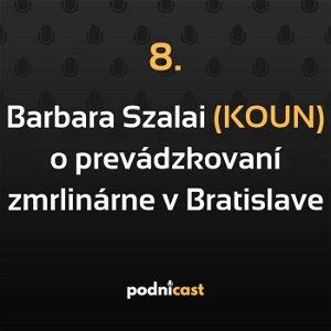 8: Barbara Szalai (KOUN) o prevádzkovaní unikátnej zmrzlinárne