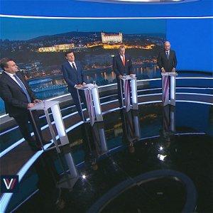Voľby 2020: Andrej Danko, Alojz Hlina, Richard Sulík a Boris Kollár