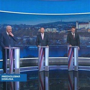 Voľby 2020: Štefan Harabin, Tomáš Drucker, Zsolt Simon a Árpád Érsek